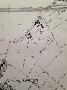 1863 old map brickfield