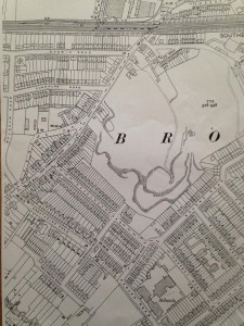 1933 old map brickfield