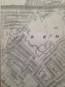 1933 old map brickfield