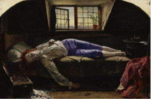 Death of Chatterton by Henry