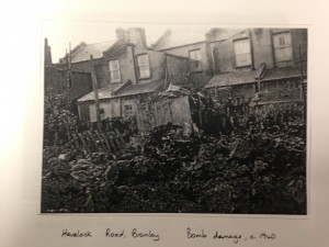 havelock rd bomb damage 1940 1