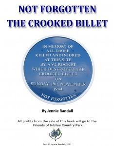 book jacket with picture of blue plaque