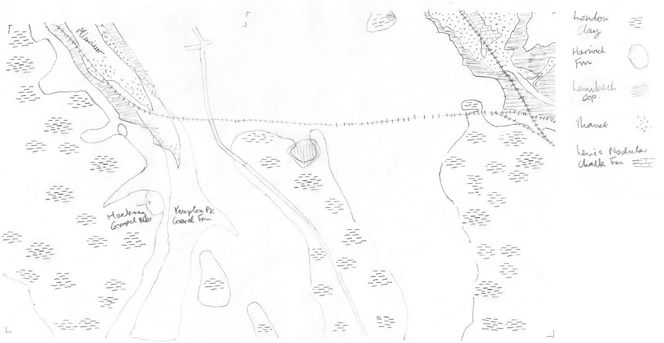 outcrop map BR2