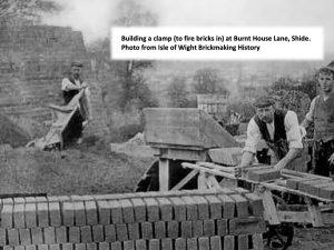 brickmakers stacking bricks